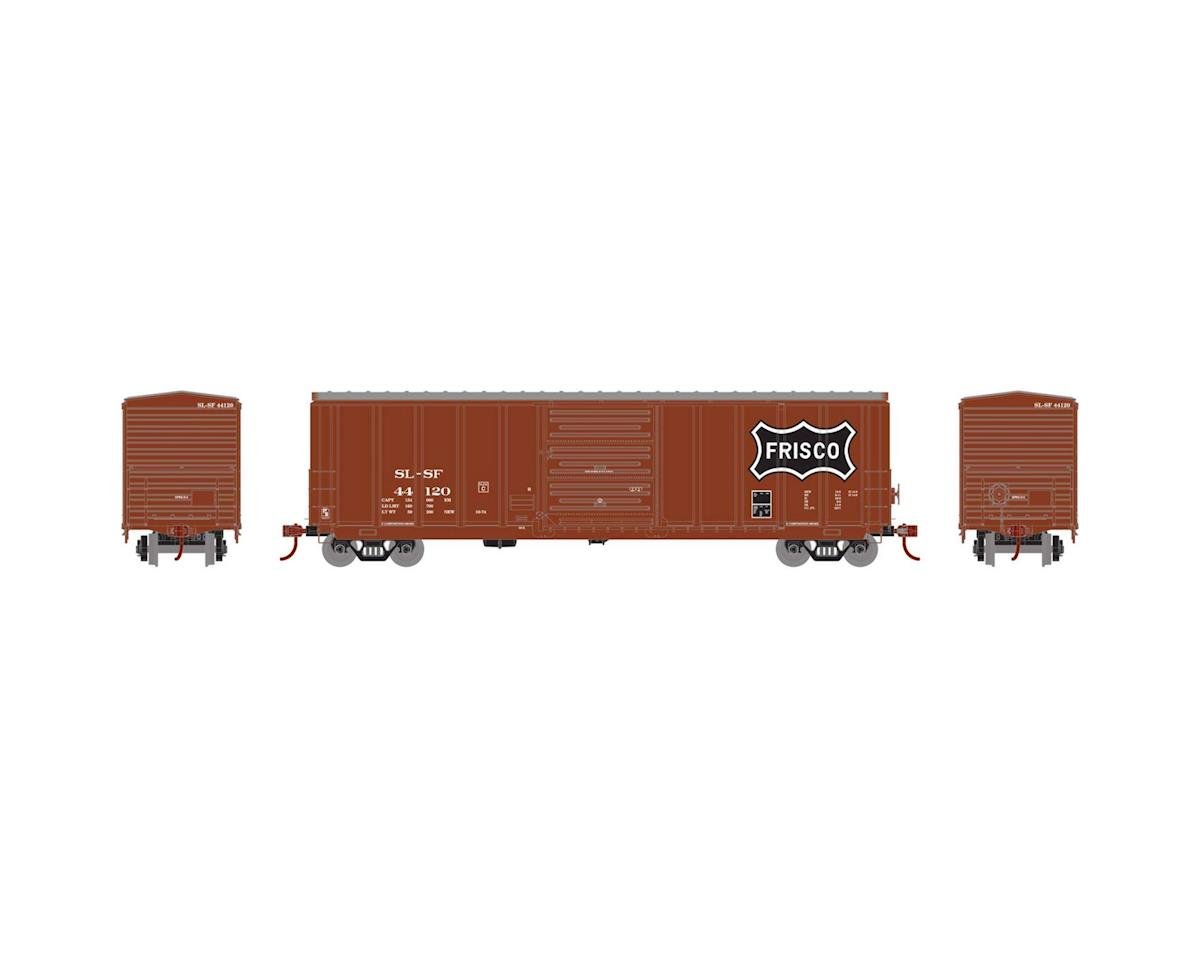 Athearn HO RTR 50' PS 5277 Box, Frisco #44120