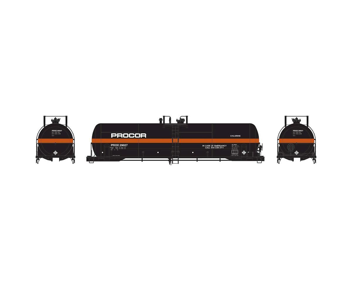 Athearn HO RTR RTC 20,900-Gallon Tank, Procor #29027