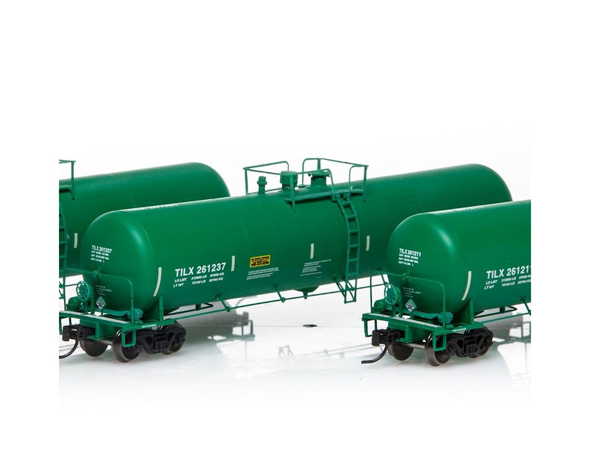 Athearn N 30,000 Gallon Ethanol Tank, TILX/Green #1 (3)