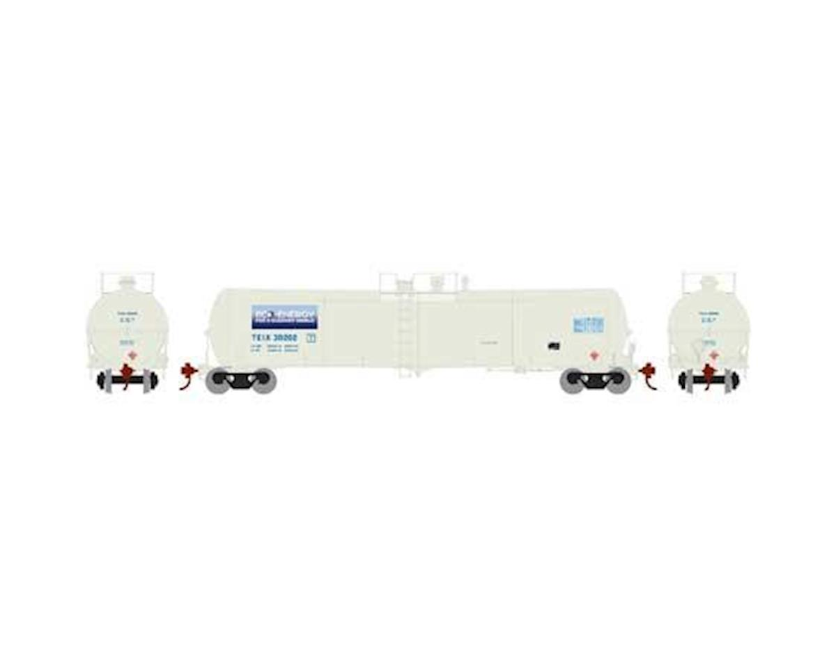 Athearn N 30,000 Gallon Ethanol Tank, TEIX/White #30202
