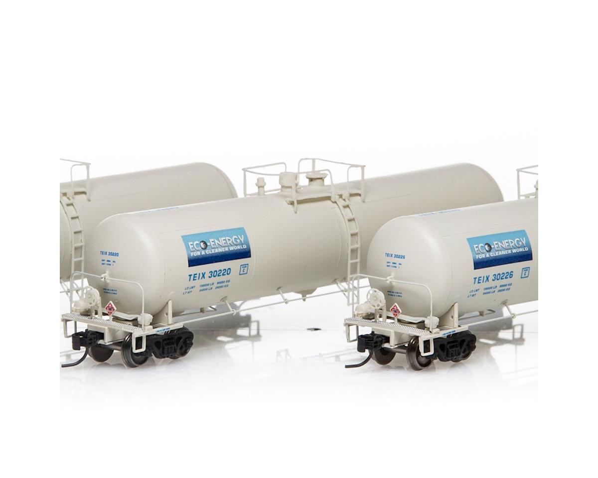 Athearn N 30,000 Gallon Ethanol Tank, TEIX/White #2 (3)