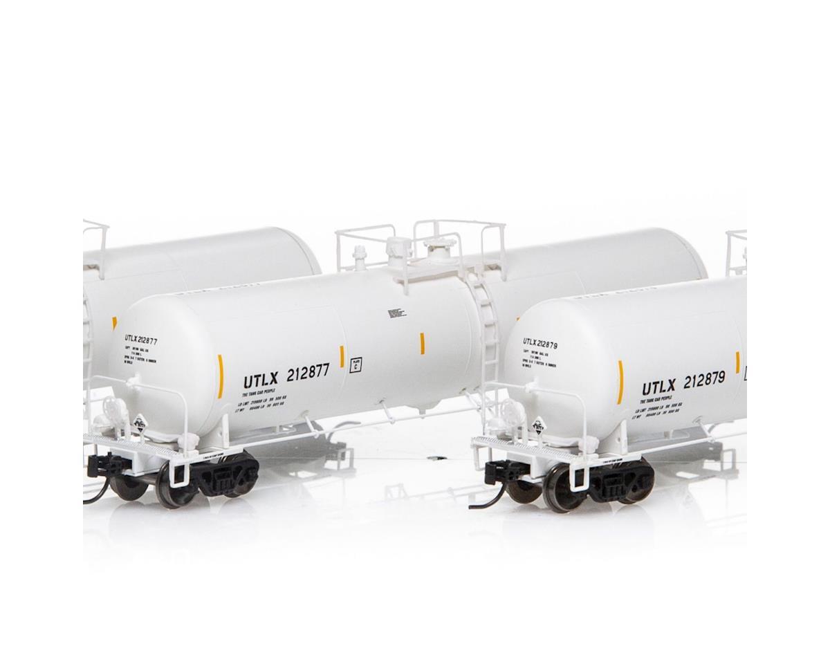 Athearn N 30,000 Gallon Ethanol Tank, UTLX/White #1 (3)