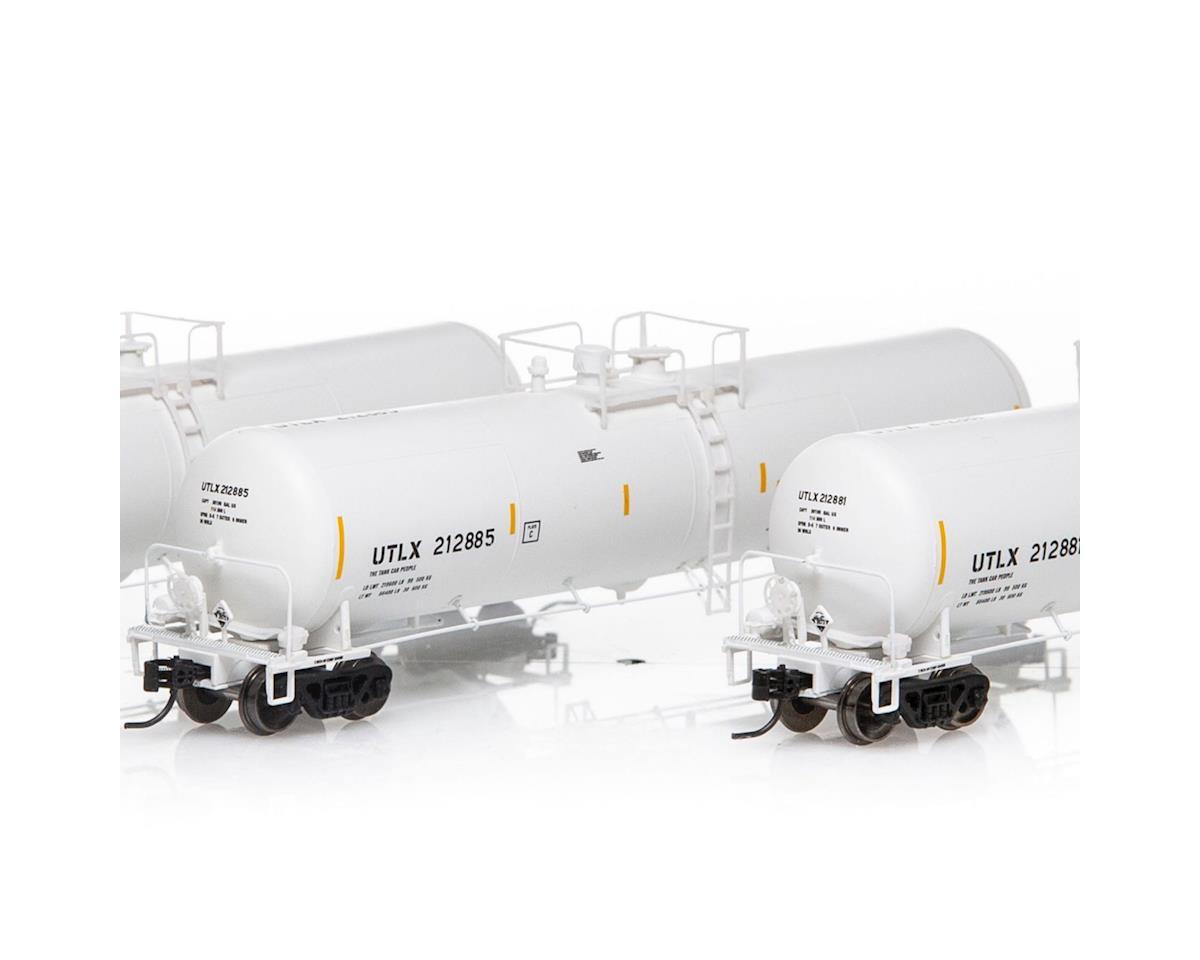 Athearn N 30,000 Gallon Ethanol Tank, UTLX/White #2 (3)