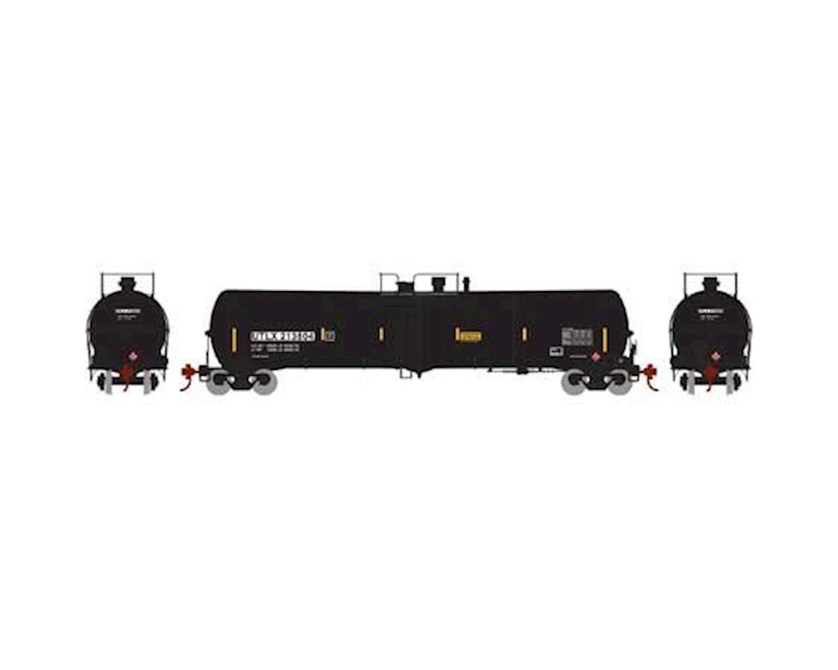 Athearn N 30,000 Gallon Ethanol Tank, UTLX/Black #213804