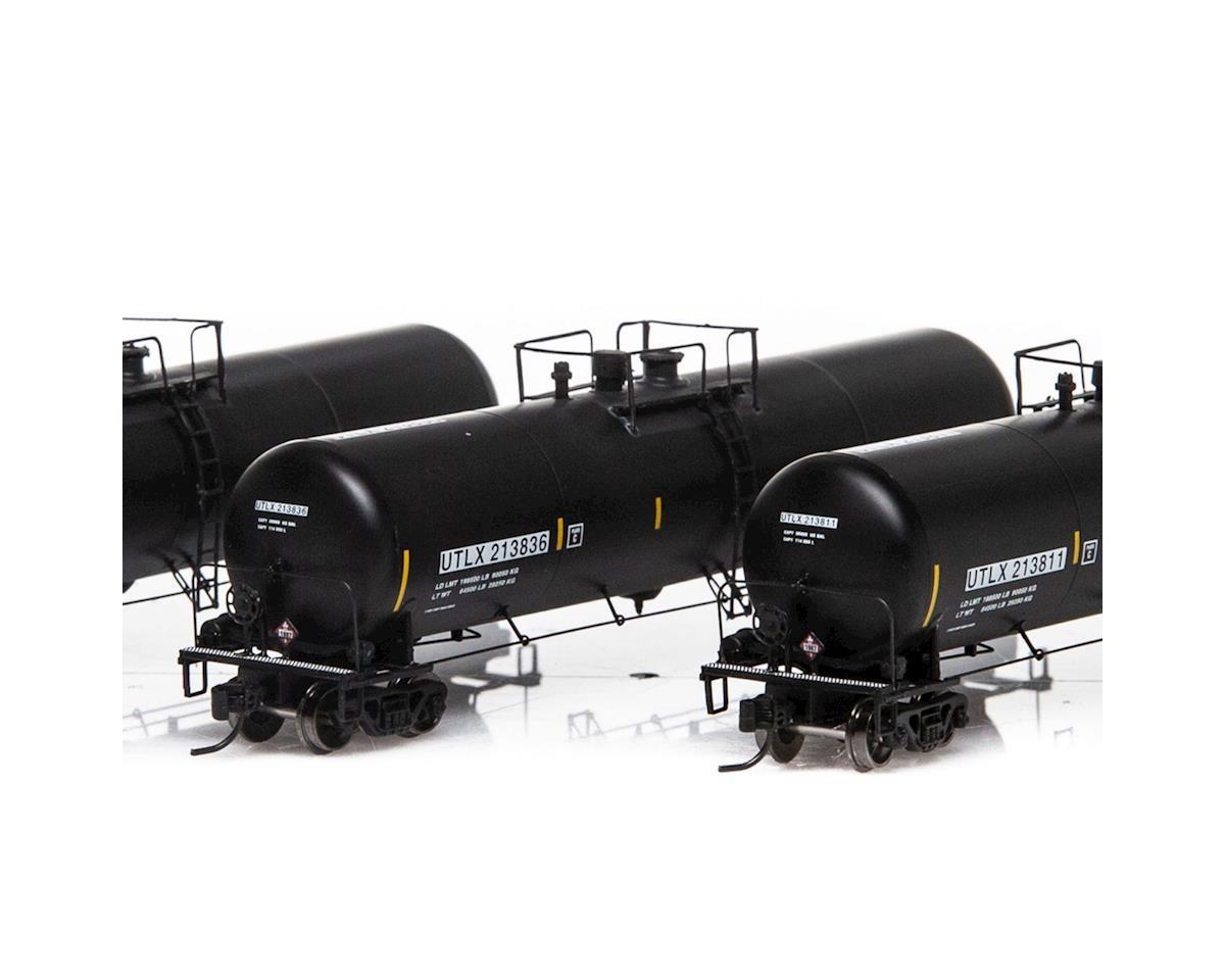 Athearn N 30,000 Gallon Ethanol Tank, UTLX/Black #2 (3)
