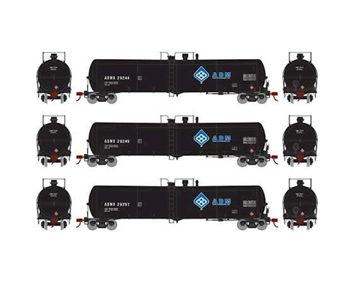 Athearn N 30,000 Gallon Ethanol Tank, ADM #1 (3)
