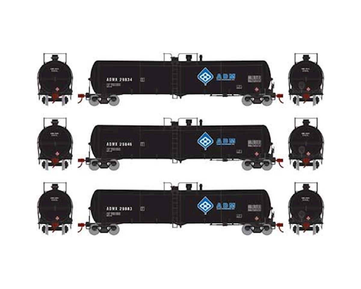 Athearn N 30,000 Gallon Ethanol Tank, ADM #3 (3)