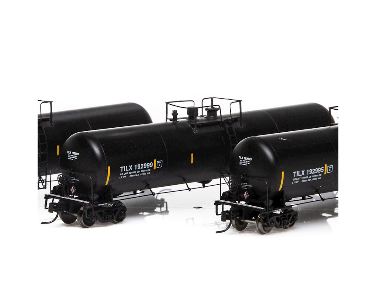 Athearn N 30,000 Gallon Ethanol Tank, TILX/Black #1 (3)