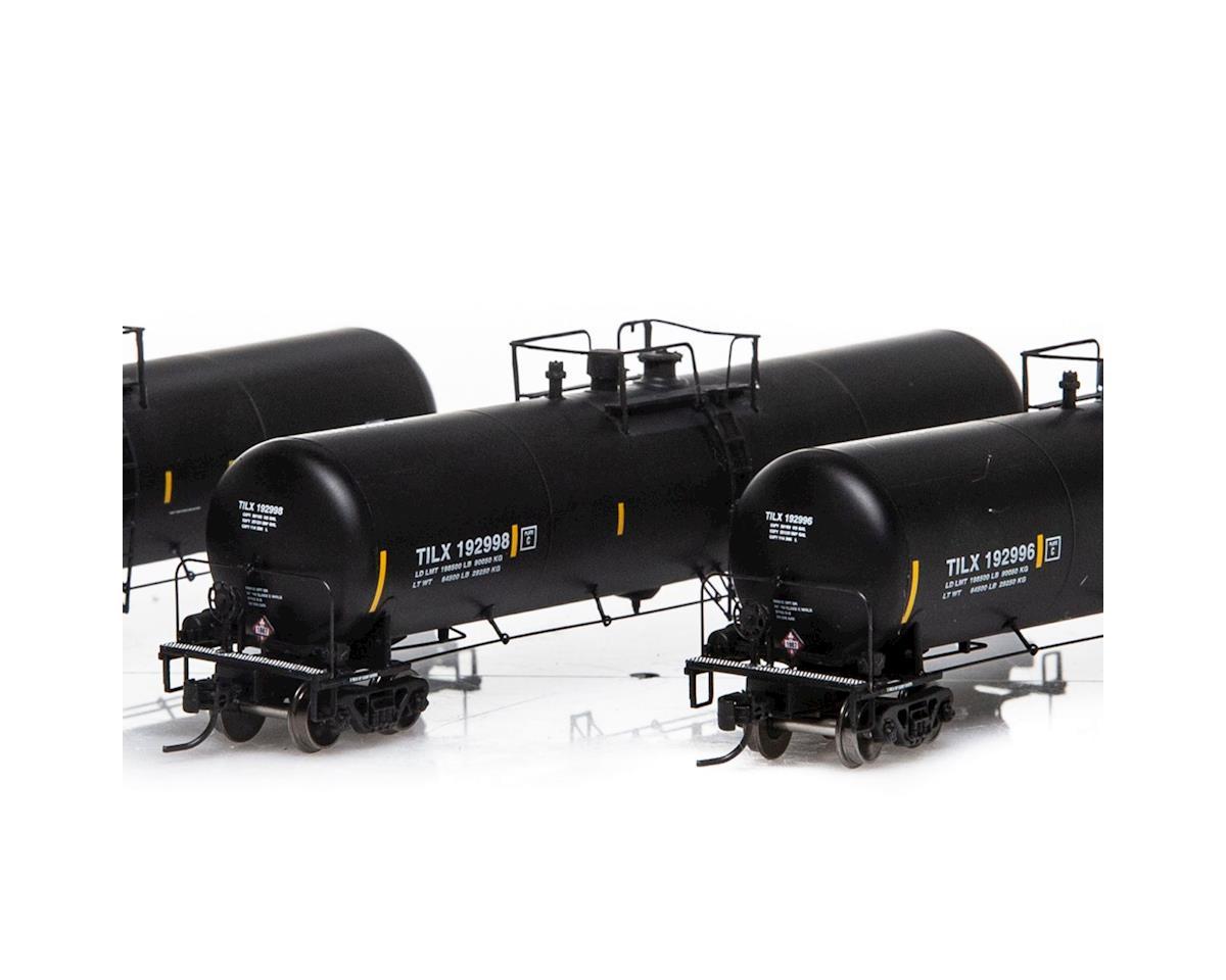 Athearn N 30,000 Gallon Ethanol Tank, TILX/Black #2 (3)