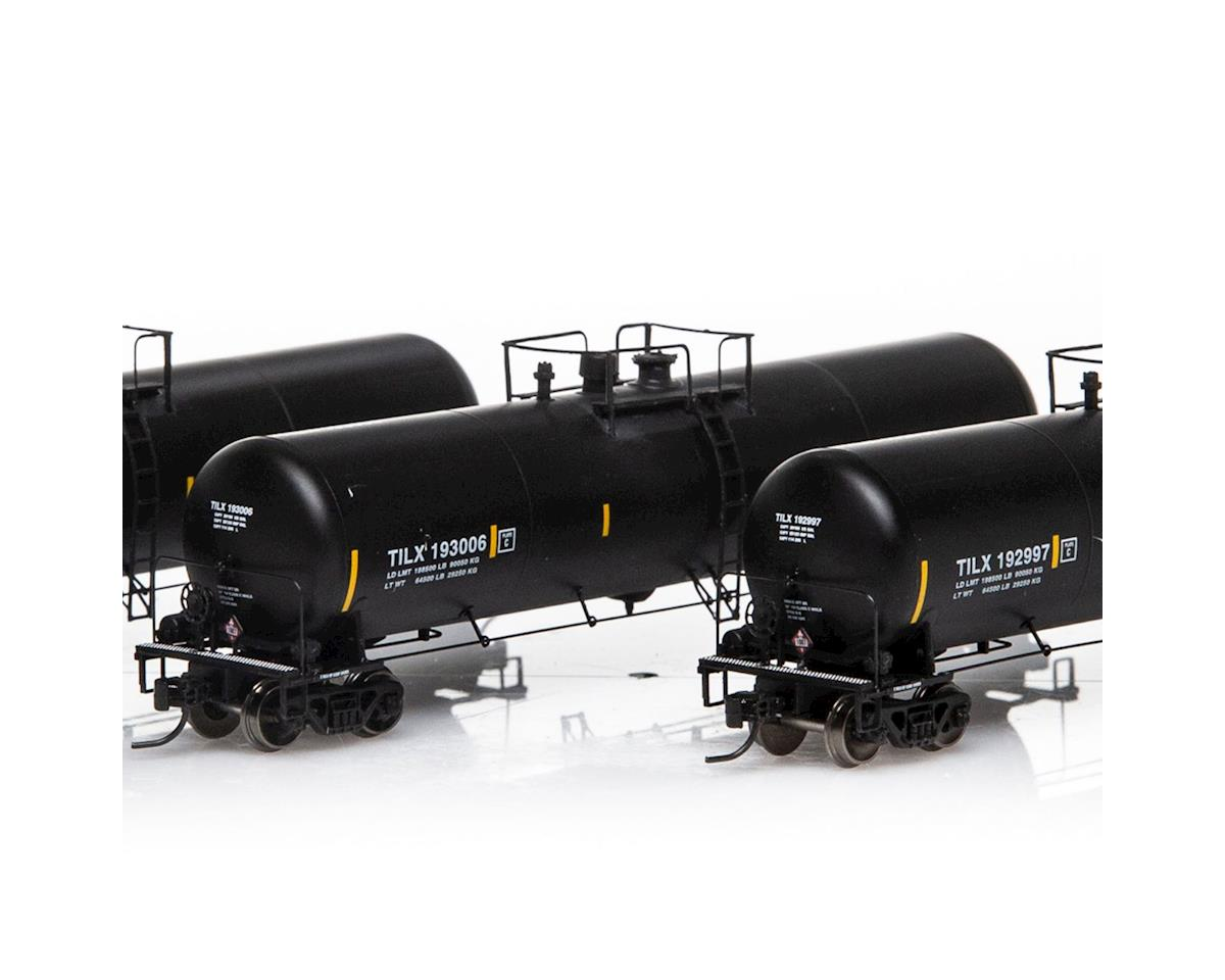Athearn N 30,000 Gallon Ethanol Tank, TILX/Black #3 (3)