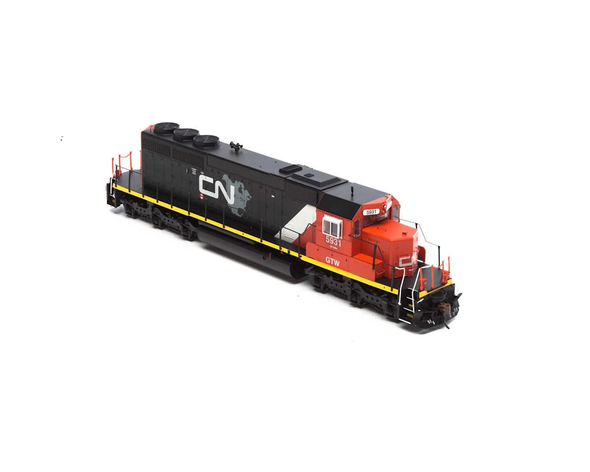 Athearn HO RTR SD40-2, CN/GTW #5931