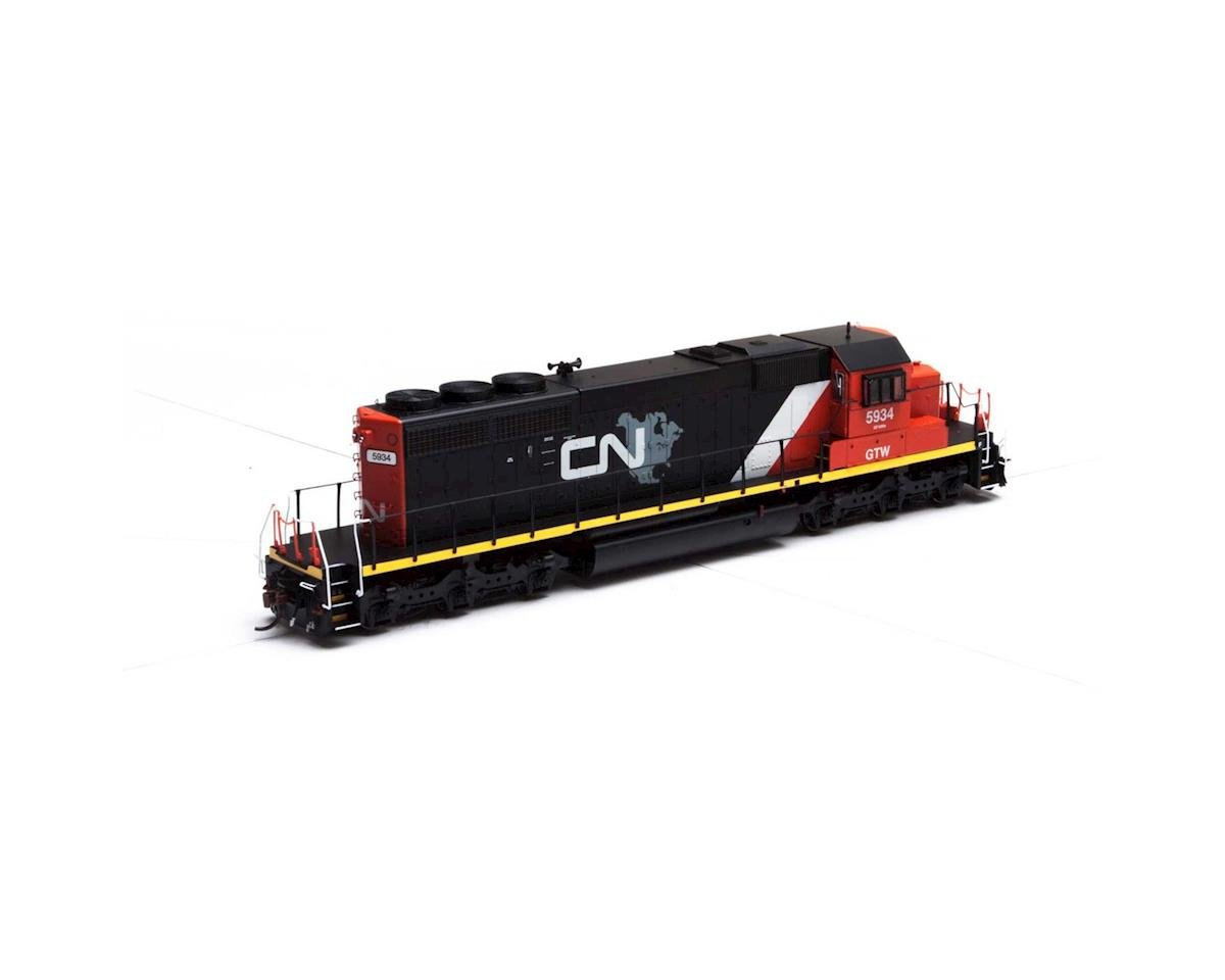 Athearn HO RTR SD40-2, CN/GTW #5934