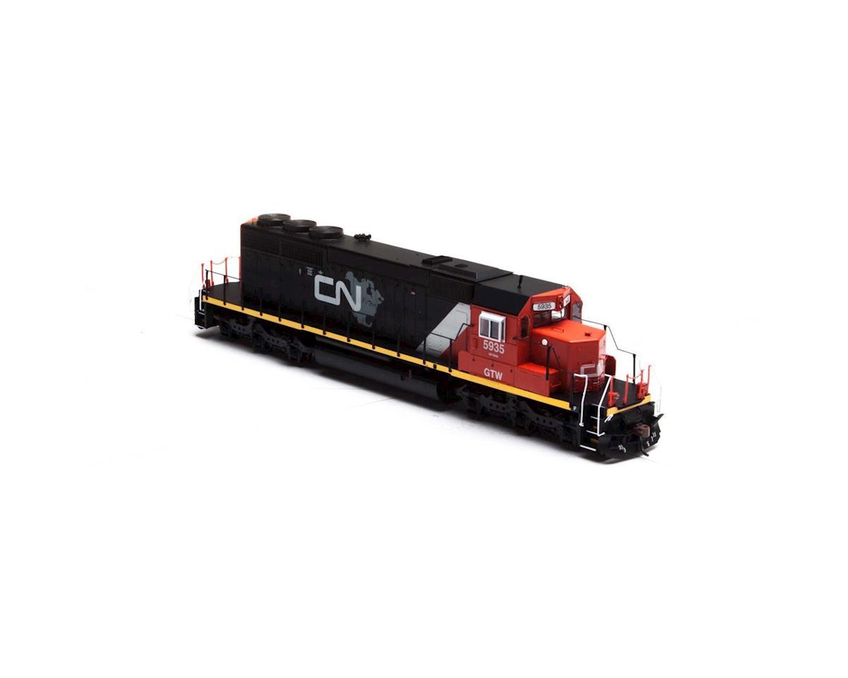 Athearn HO RTR SD40-2, CN/GTW #5935