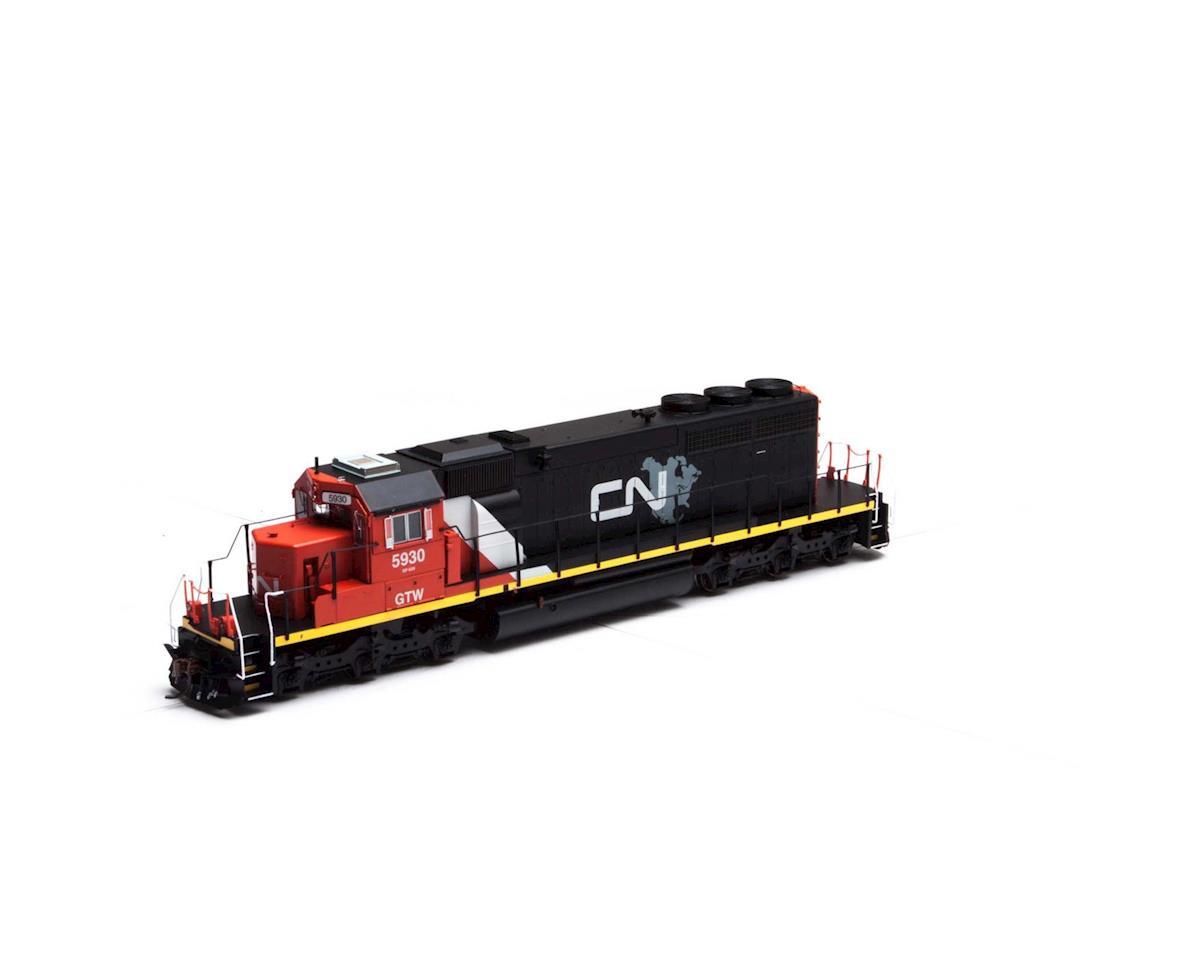 Athearn HO RTR SD40-2 w/DCC & Sound, CN/GTW #5930