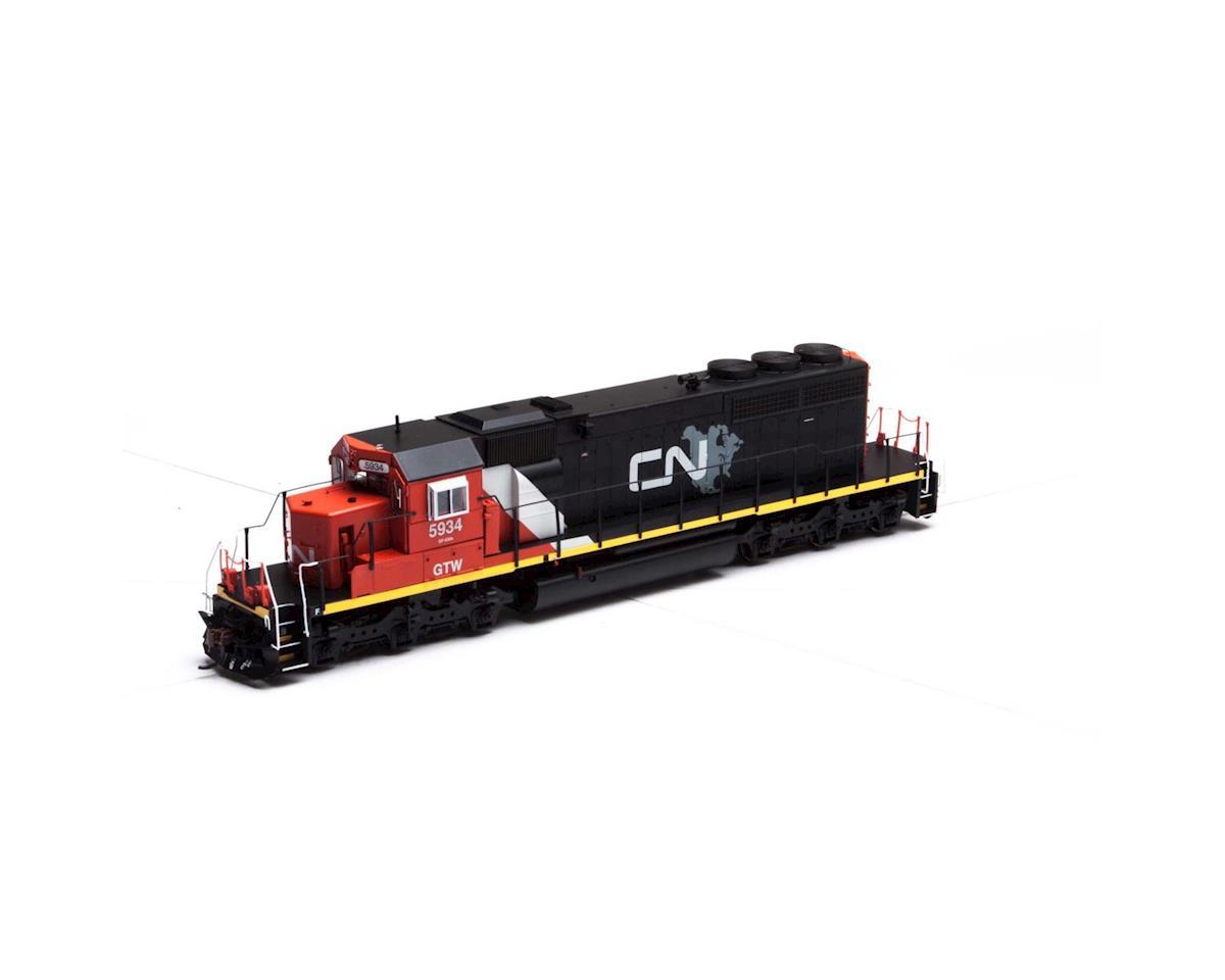 Athearn HO RTR SD40-2 w/DCC & Sound, CN/GTW #5934