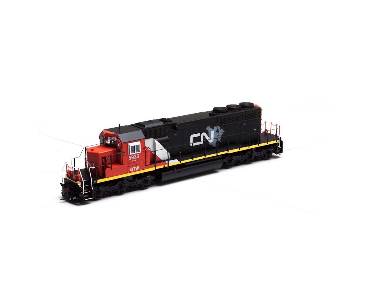 Athearn HO RTR SD40-2 w/DCC & Sound, CN/GTW #5935