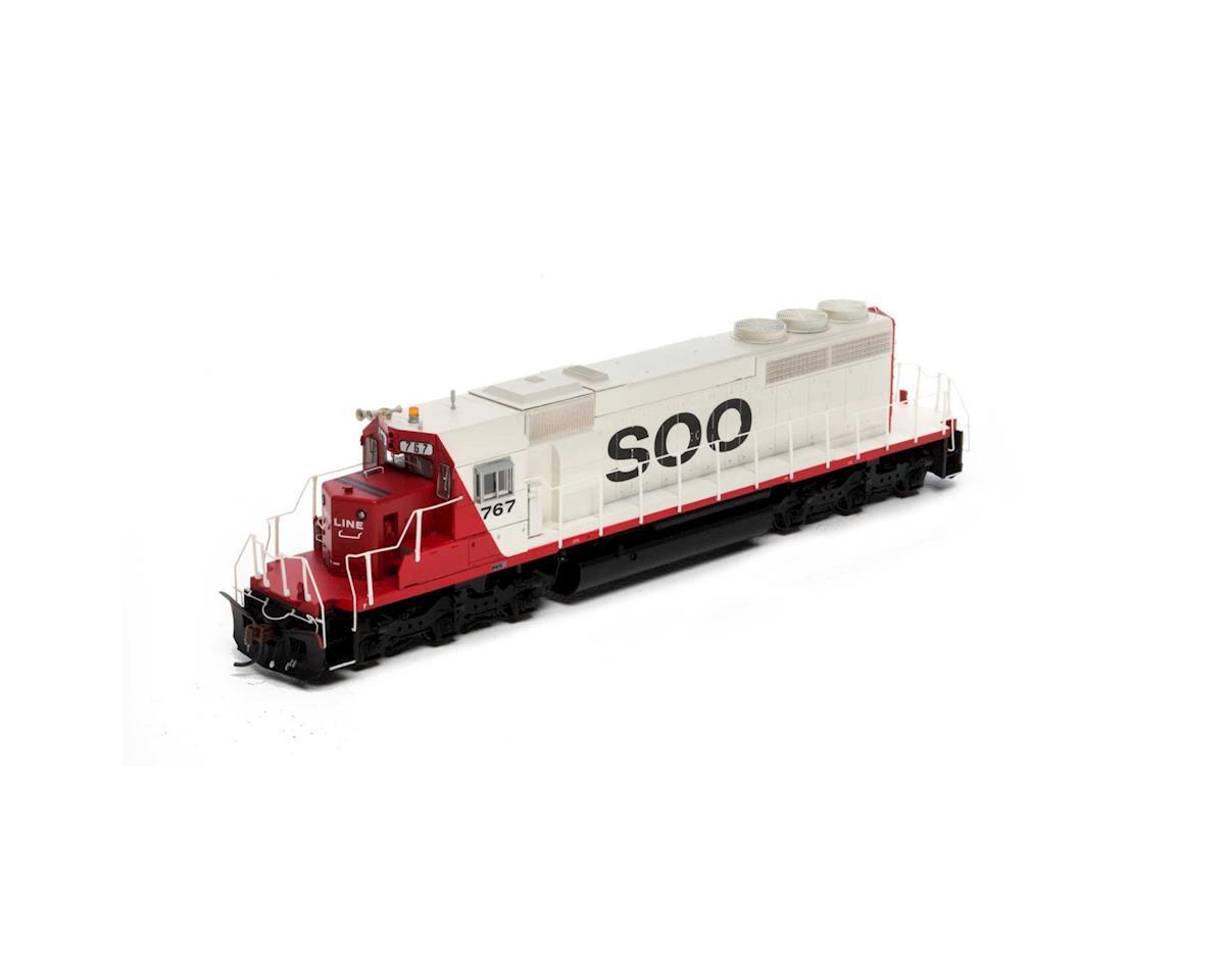 Athearn HO RTR SD40-2 w/DCC & Sound, SOO #767