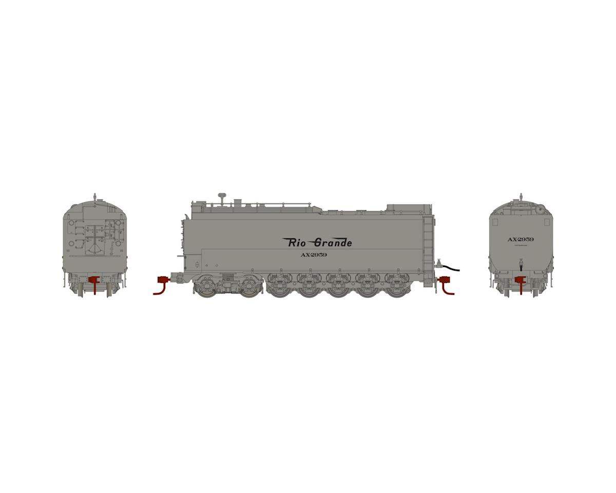 HO Service Tender, D&RGW # AX-2959 by Athearn
