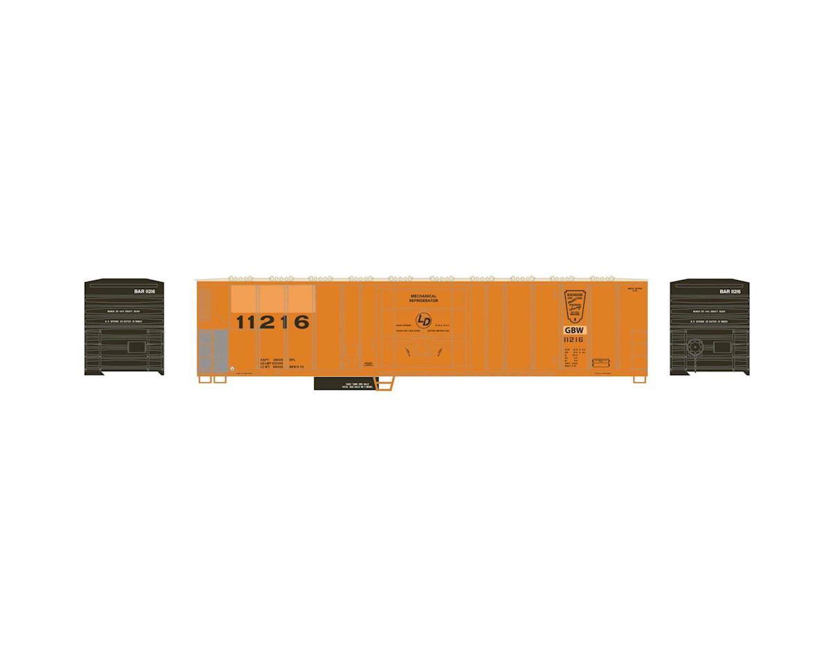 Athearn N 57' Mechanical Reefer, GB&W #11216