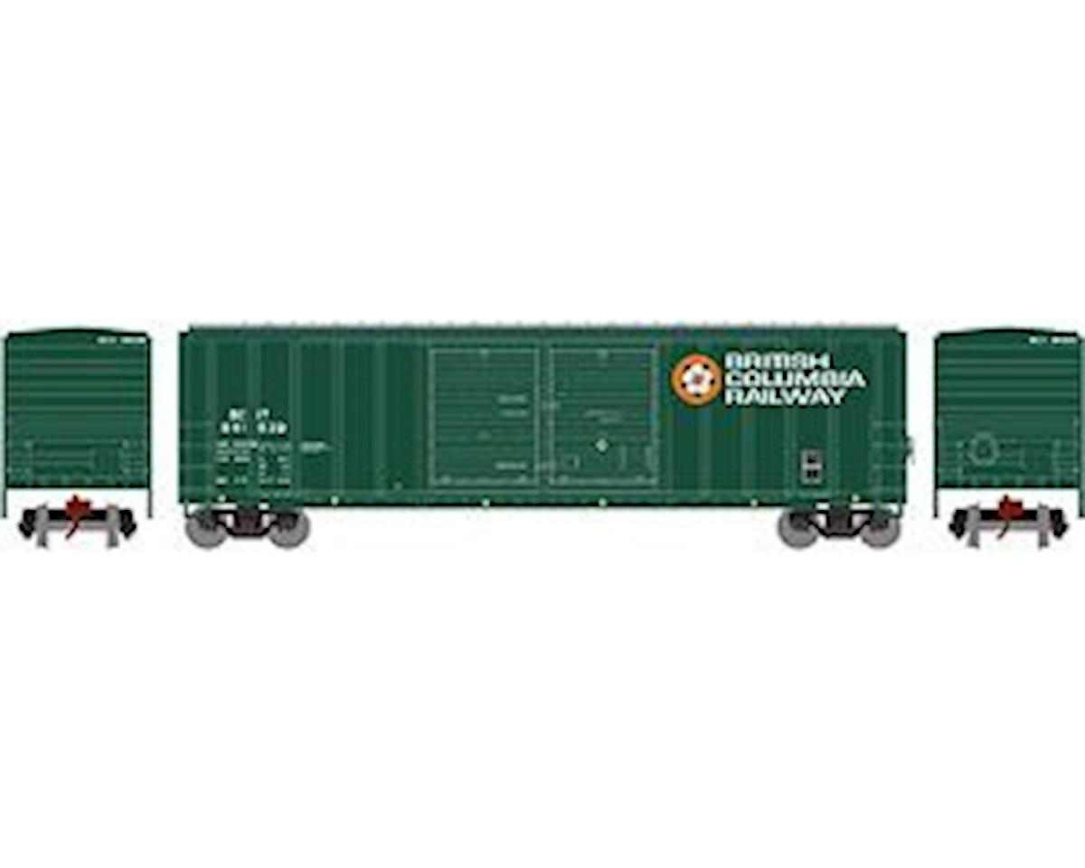 Athearn N 50' FMC Offset Double Door Box, BCOL #841629