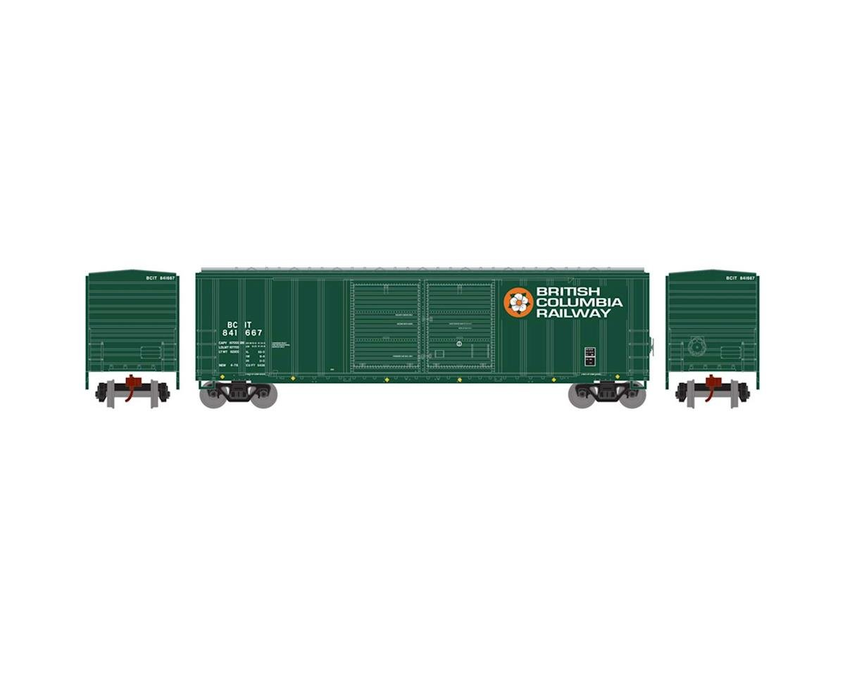 Athearn N 50' FMC Offset Double Door Box, BCOL #841667