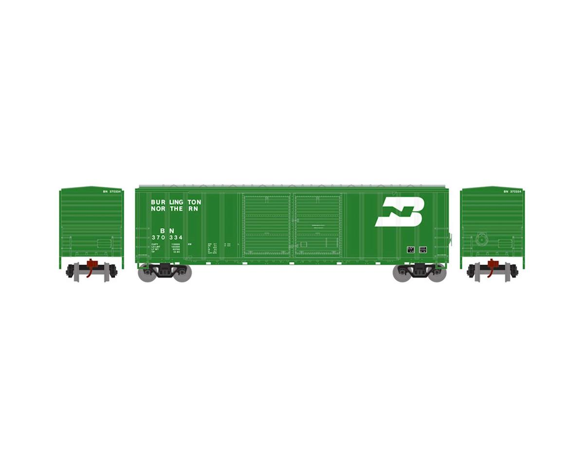 Athearn N 50' FMC Offset Double Door Box, BN #370334