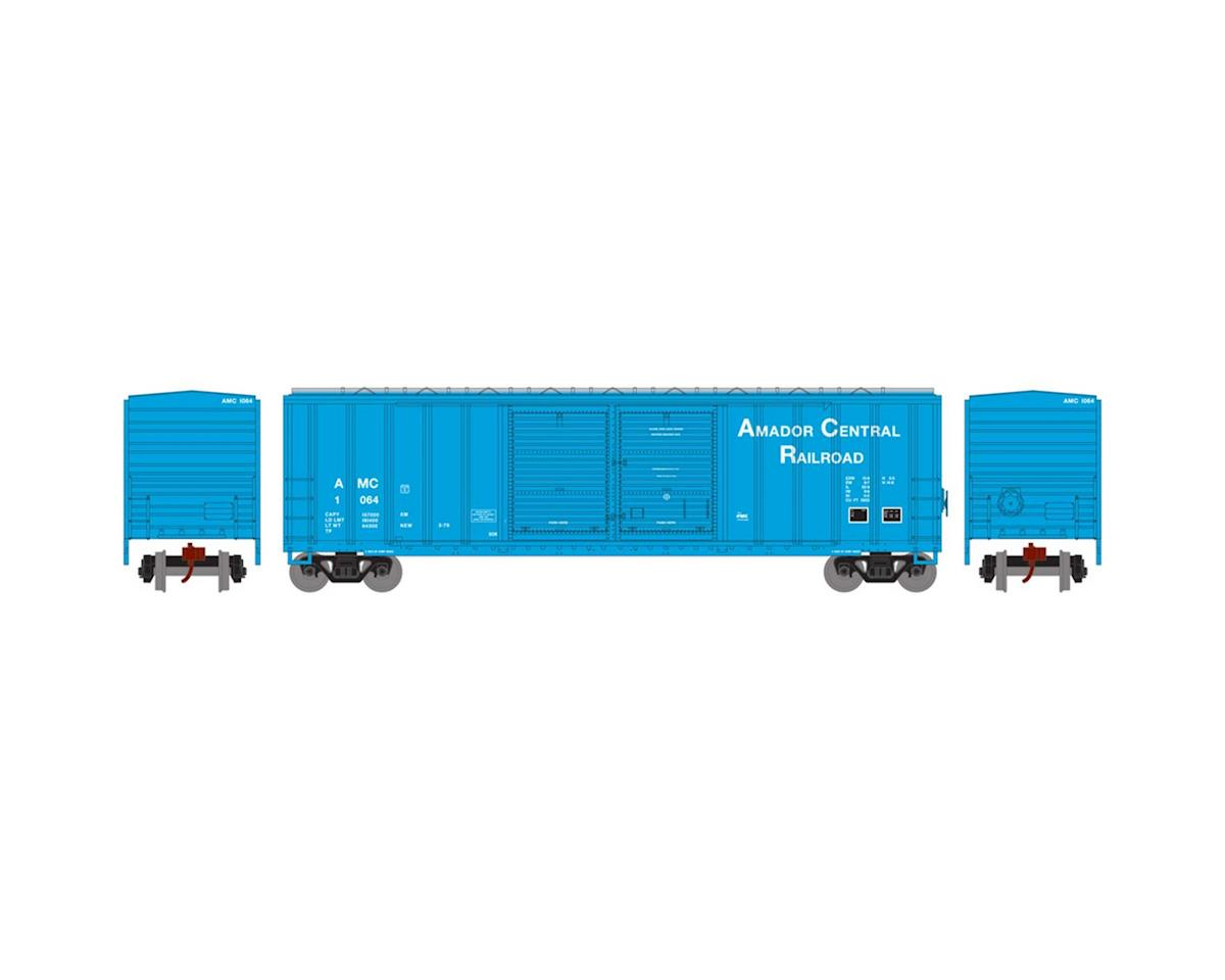 Athearn N 50' FMC Offset Double Door Box, AMC #1064