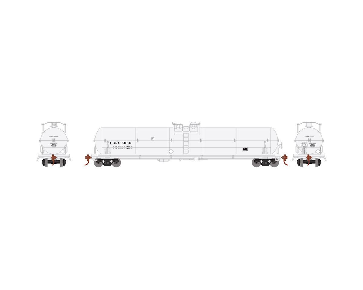 Athearn HO RTR 62' Tank, CORX #5086