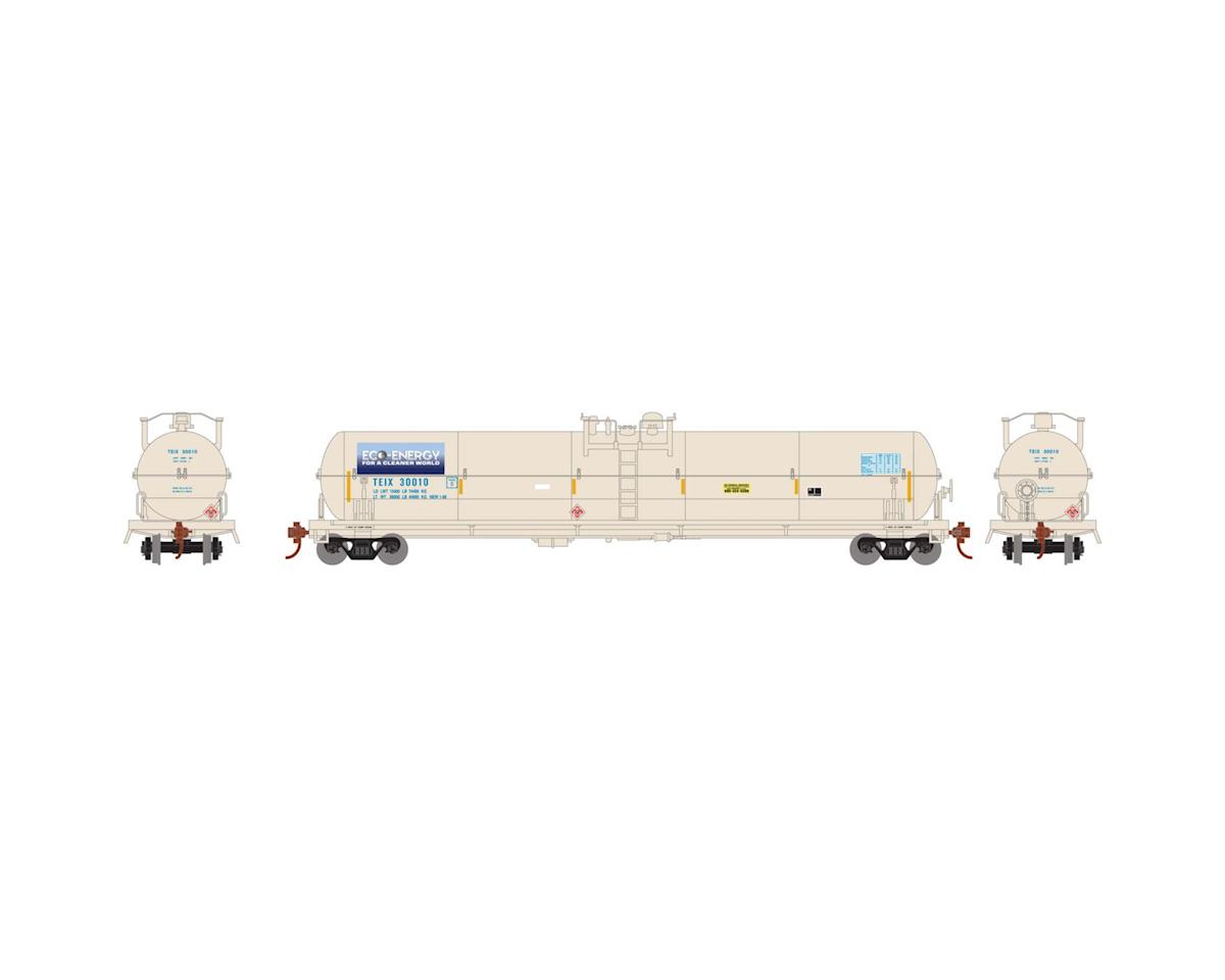 Athearn HO RTR 62' Tank, TEIX/Eco-Energy #30010