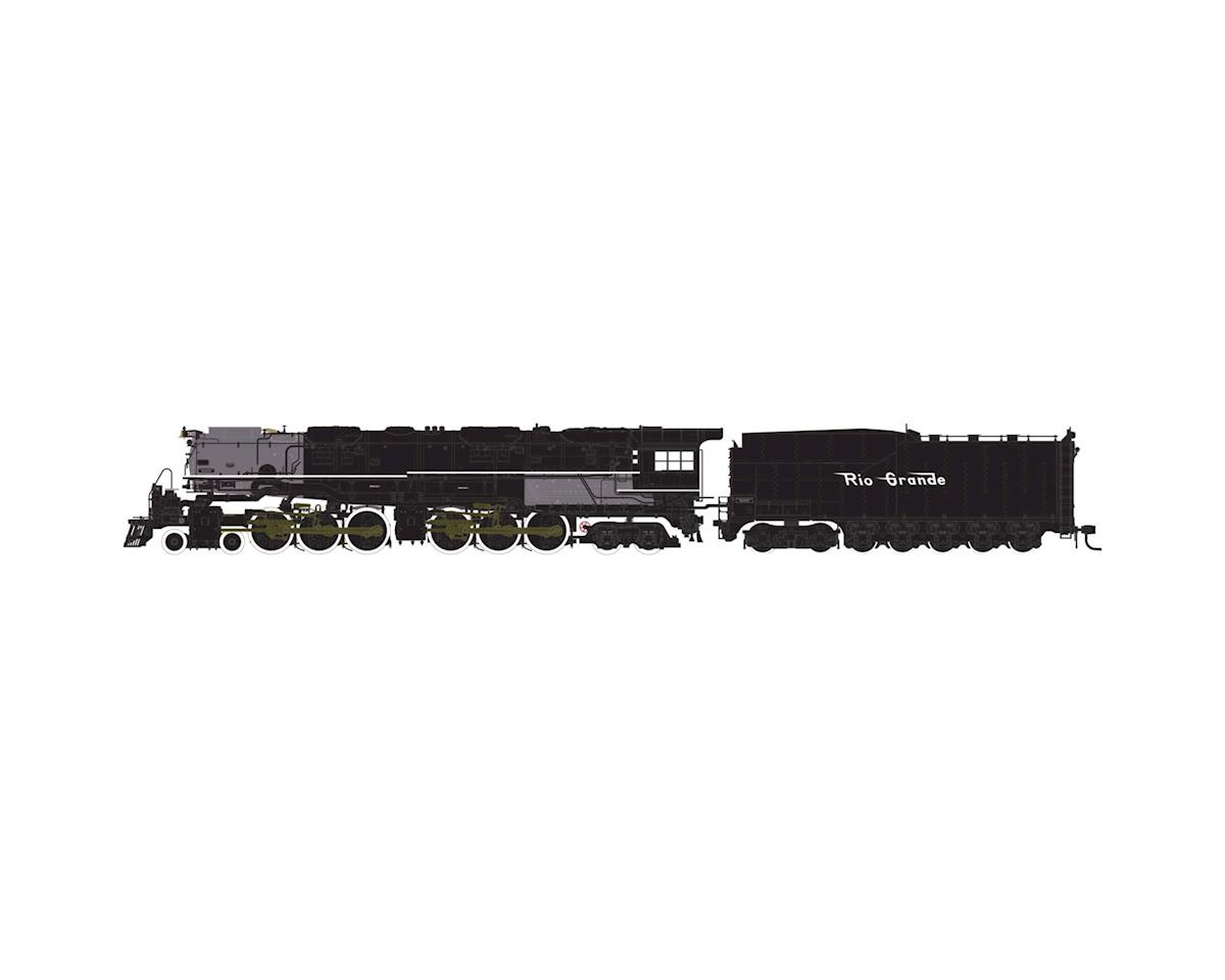 Athearn N 4-6-6-4 w/DCC & Sound Coal Tender, D&RGW #3805