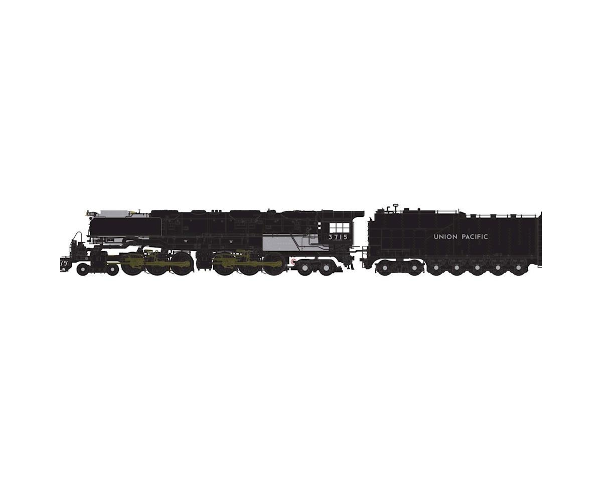 Athearn N 4-6-6-4 w/DCC & Sound Oil Tender, UP #3715