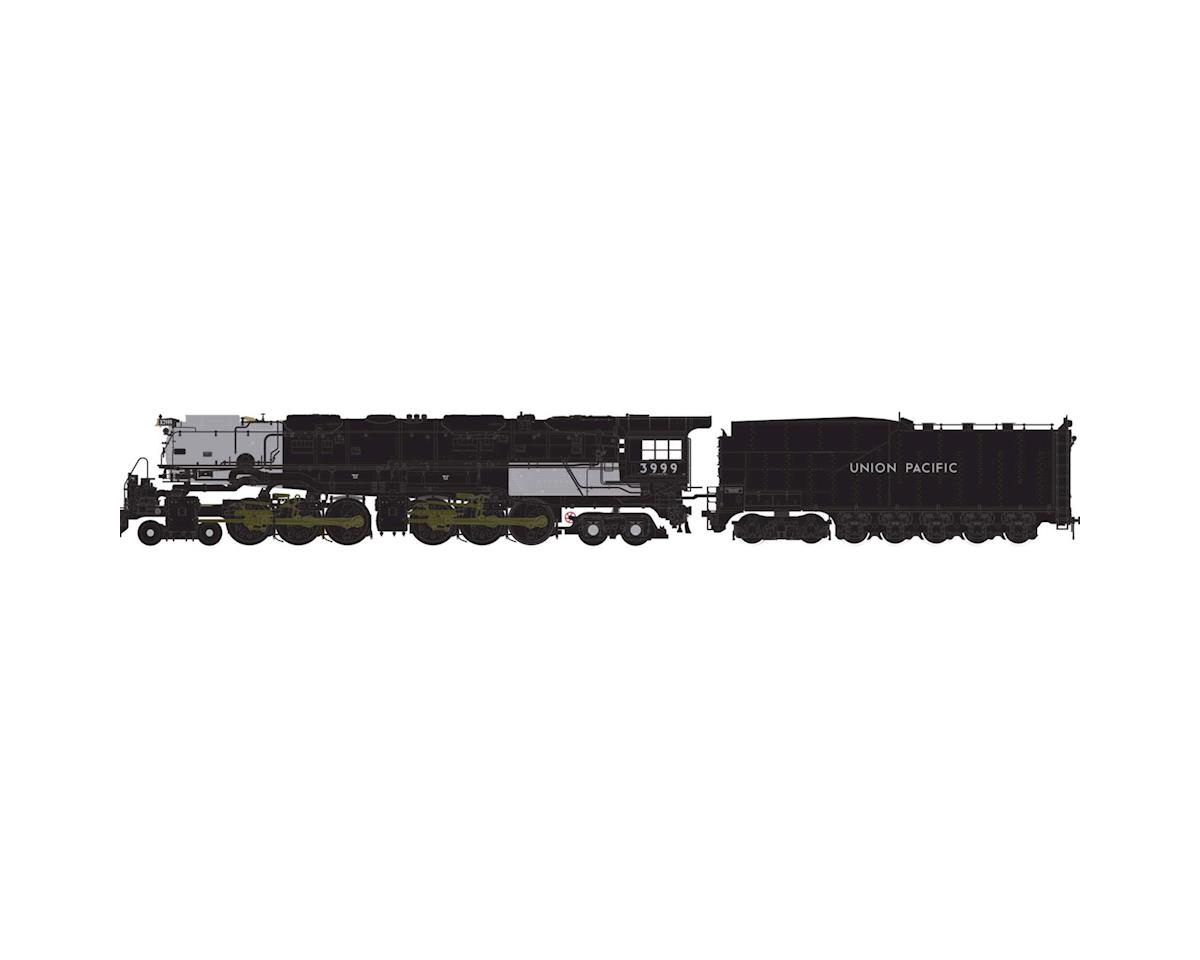 Athearn N 4-6-6-4 w/DCC & Sound Coal Tender, UP #3999
