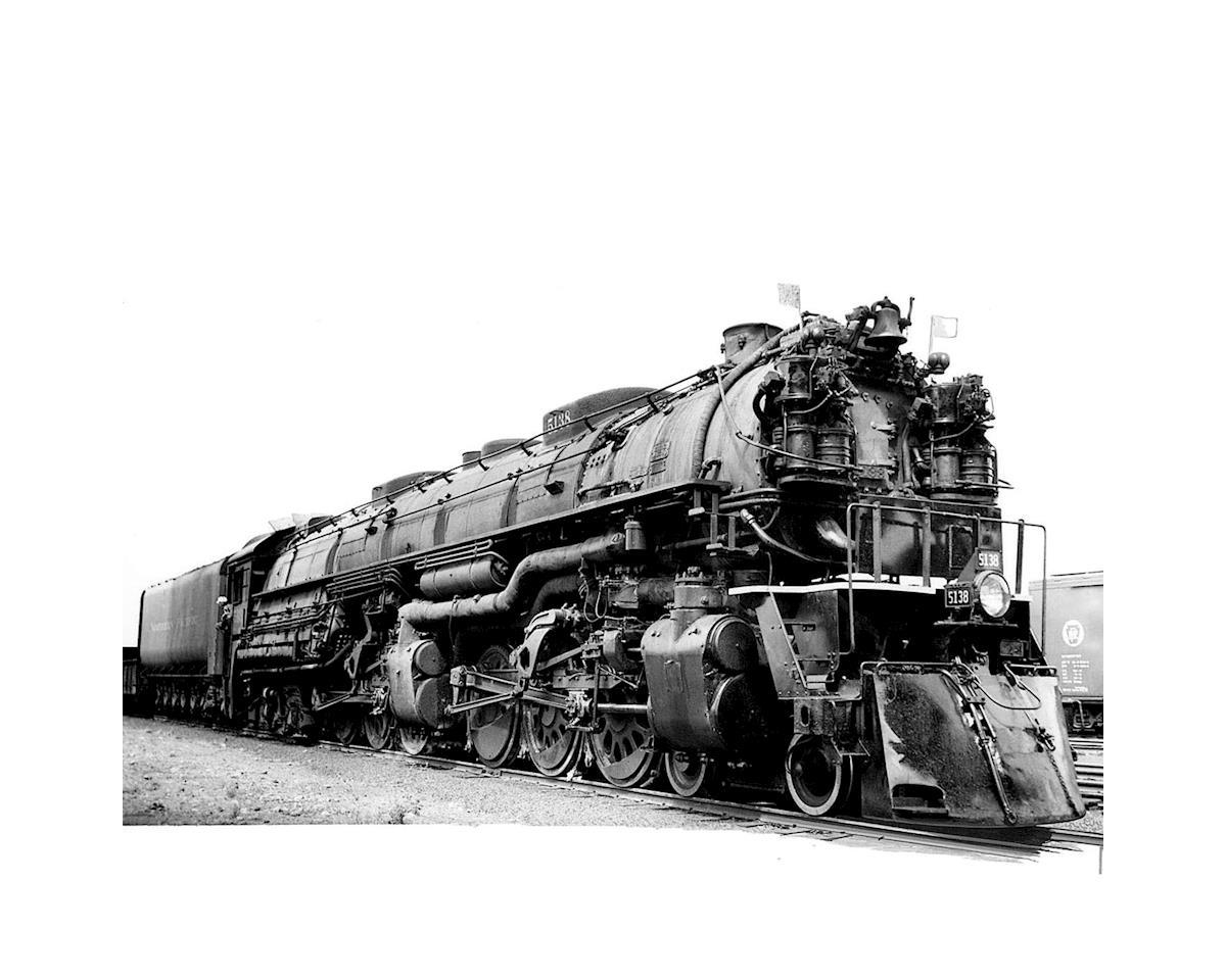 Athearn N 4-6-6-4 w/DCC & Sound Coal Tender, NP #5138