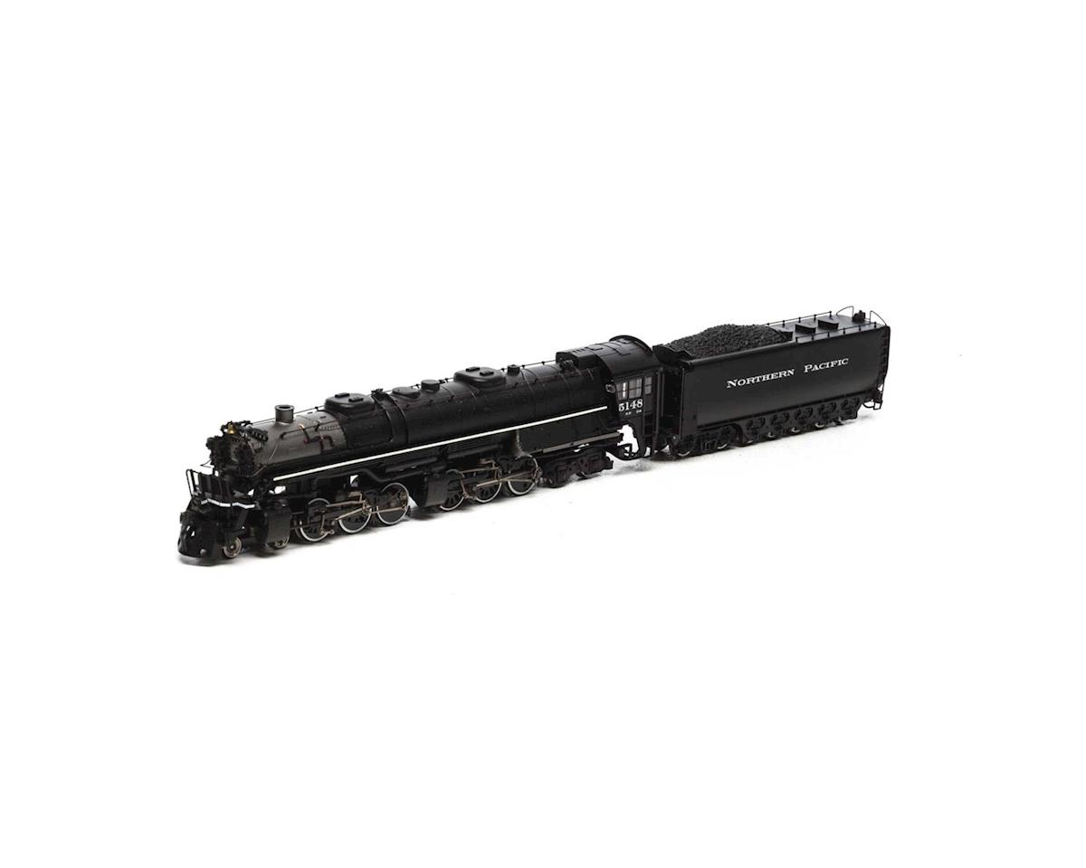 N 4-6-6-4 w/DCC & Sound Coal Tender, NP #5148 by Athearn