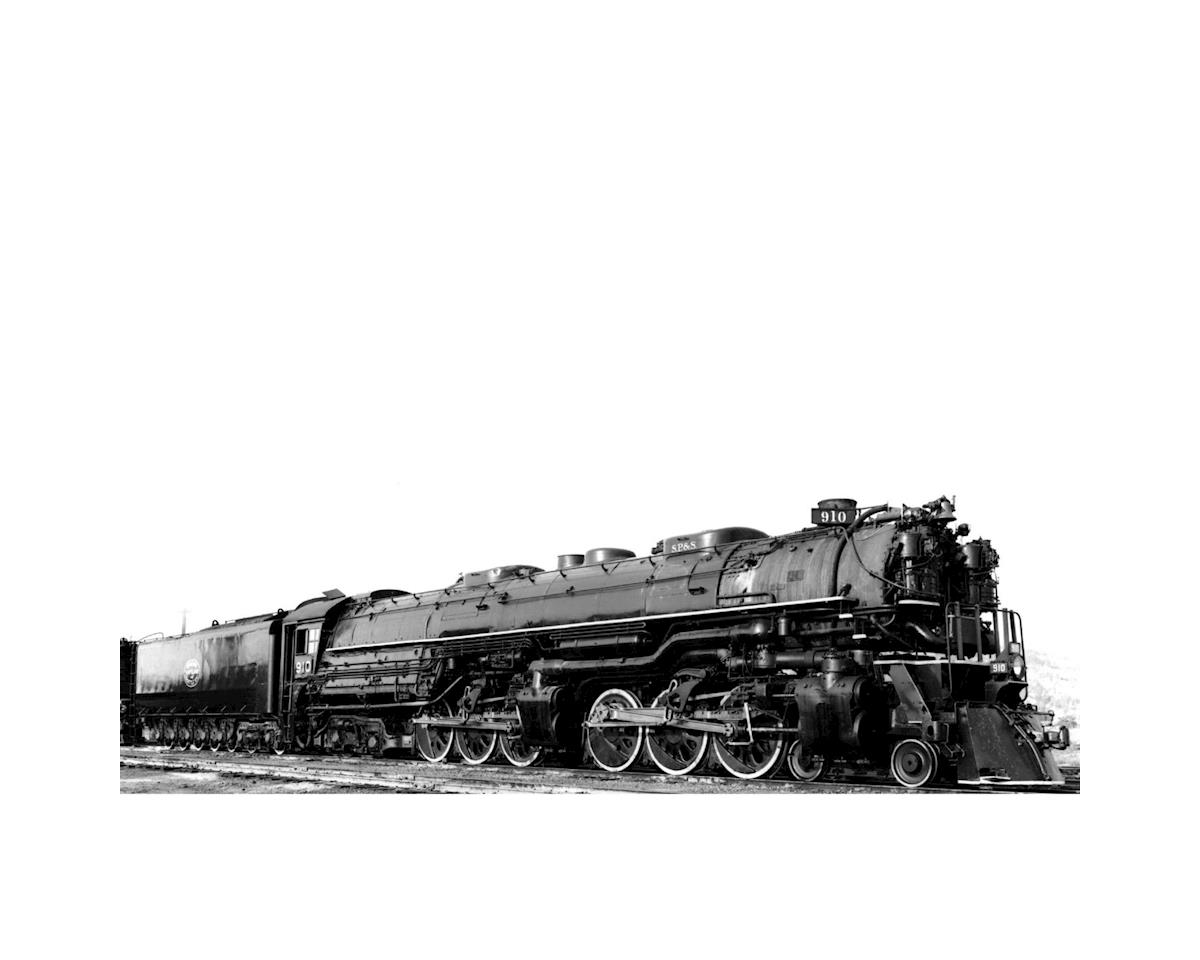 N 4-6-6-4 w/DCC & Sound Oil Tender, SP&S #910