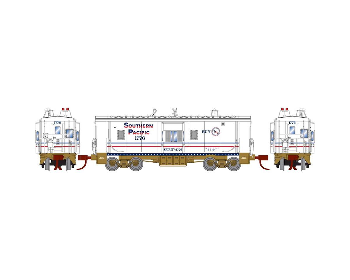 Athearn N RTR Bay Window Caboose, SP/Bicentennial #1776