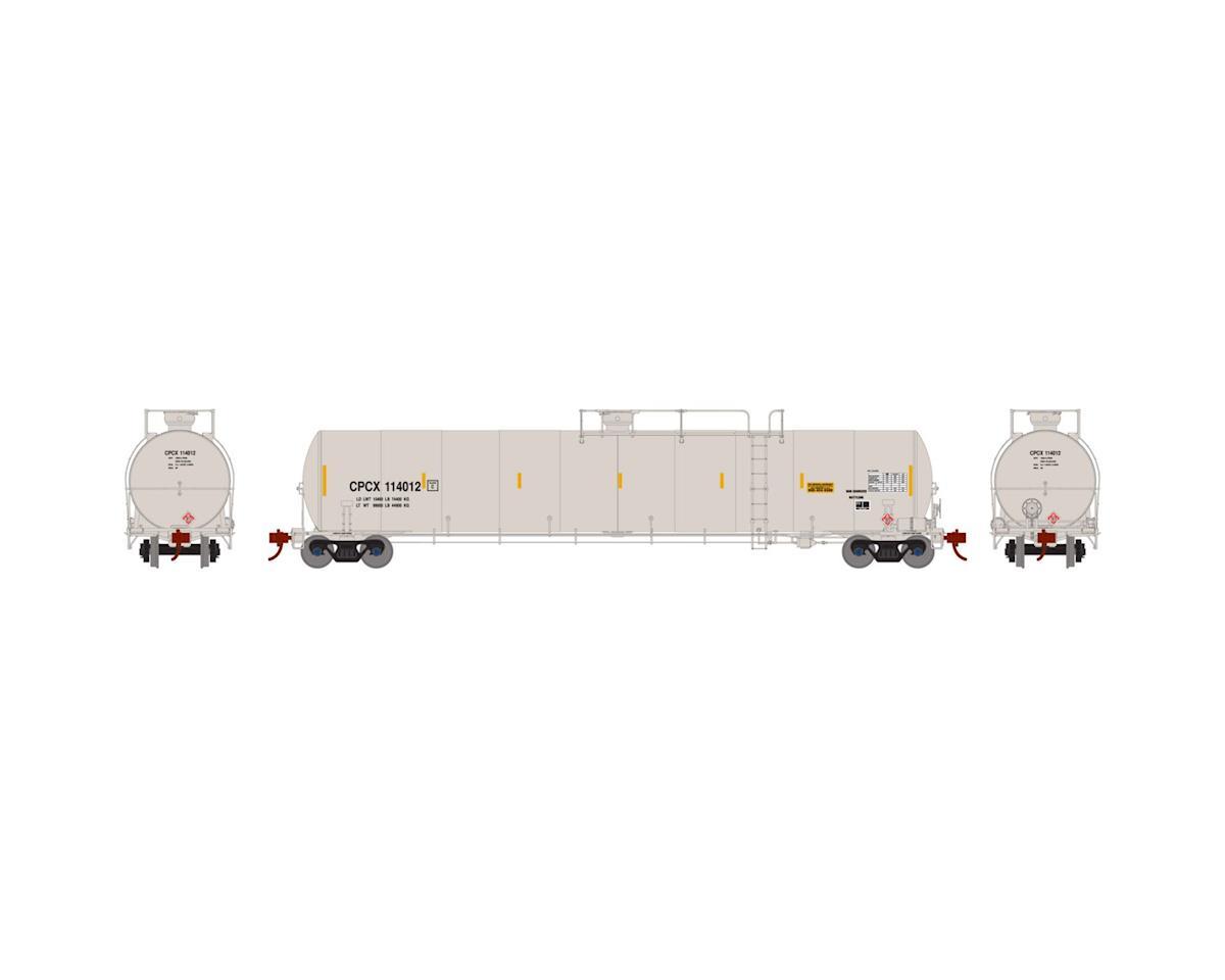 Athearn N 33,900-Gallon LPG Tank/Late, CPCX #114012