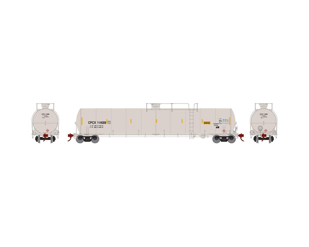 Athearn N 33,900-Gallon LPG Tank/Late, CPCX #114088