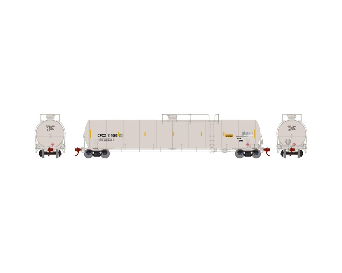 Athearn N 33,900-Gallon LPG Tank/Late, CPCX #114095