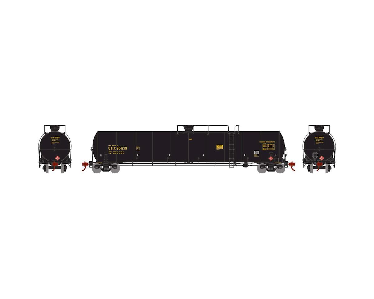 Athearn N 33,900-Gallon LPG Tank/Late, UTLX #951219