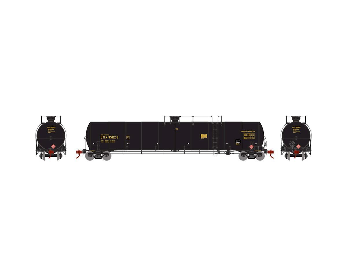 Athearn N 33,900-Gallon LPG Tank/Late, UTLX #951233