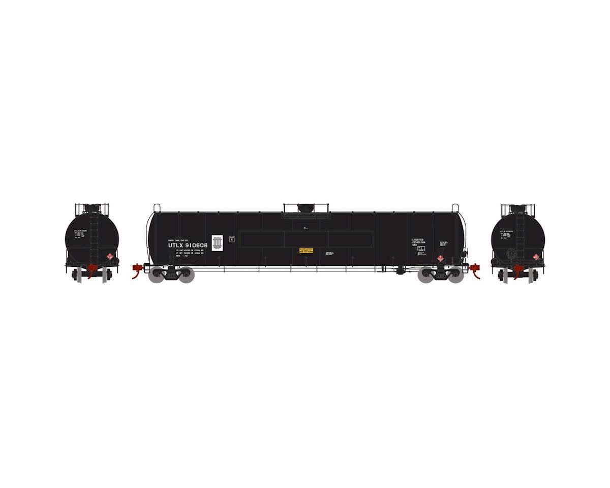 Athearn N 33,900-Gallon LPG Tank/Flat Panel, UTLX #910608