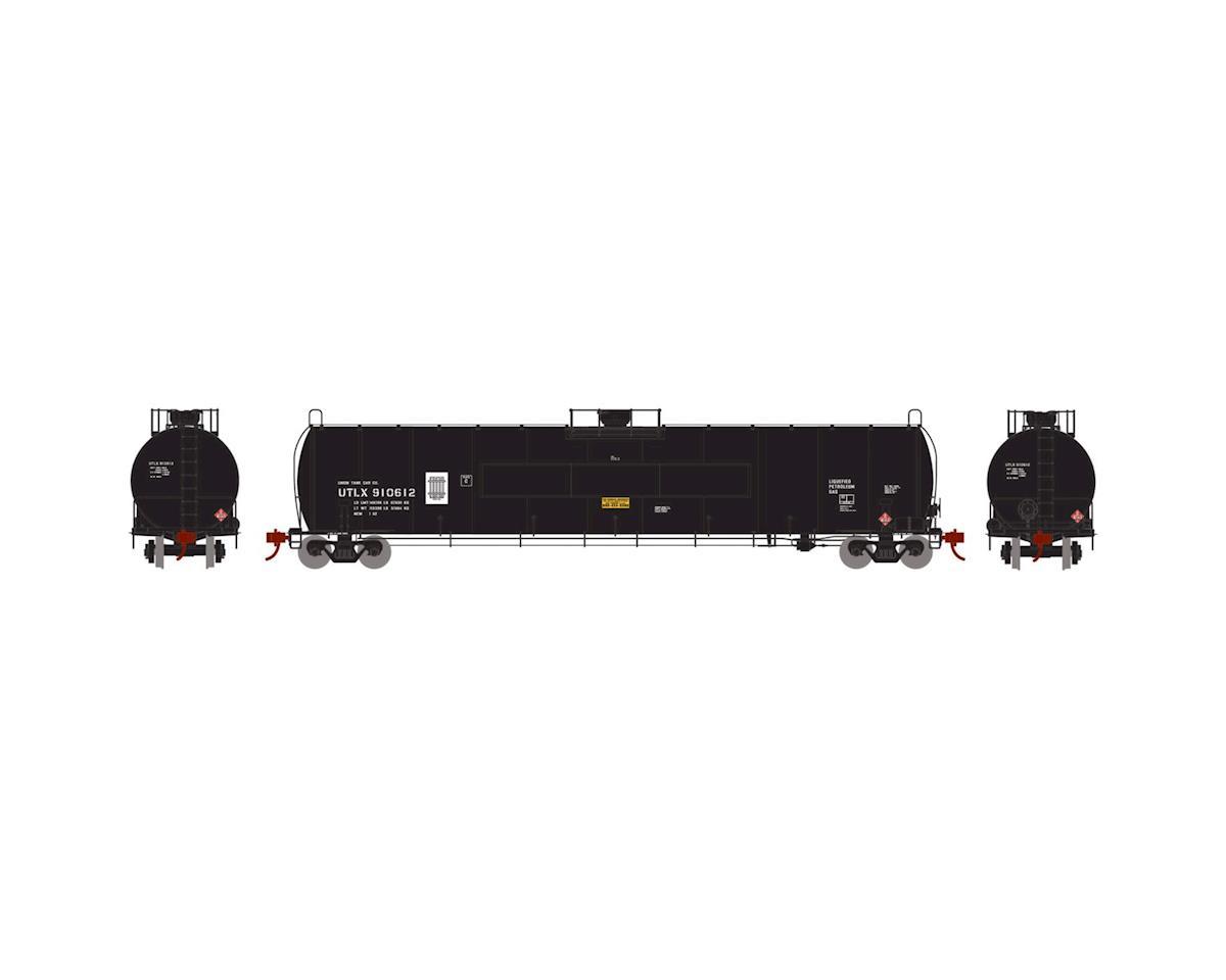 Athearn N 33,900-Gallon LPG Tank/Flat Panel, UTLX #910612