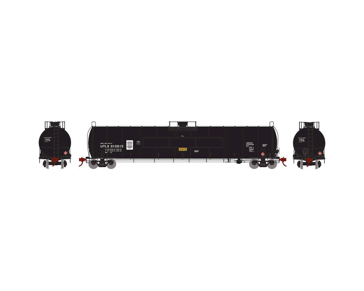 Athearn N 33,900-Gallon LPG Tank/Flat Panel, UTLX #910615