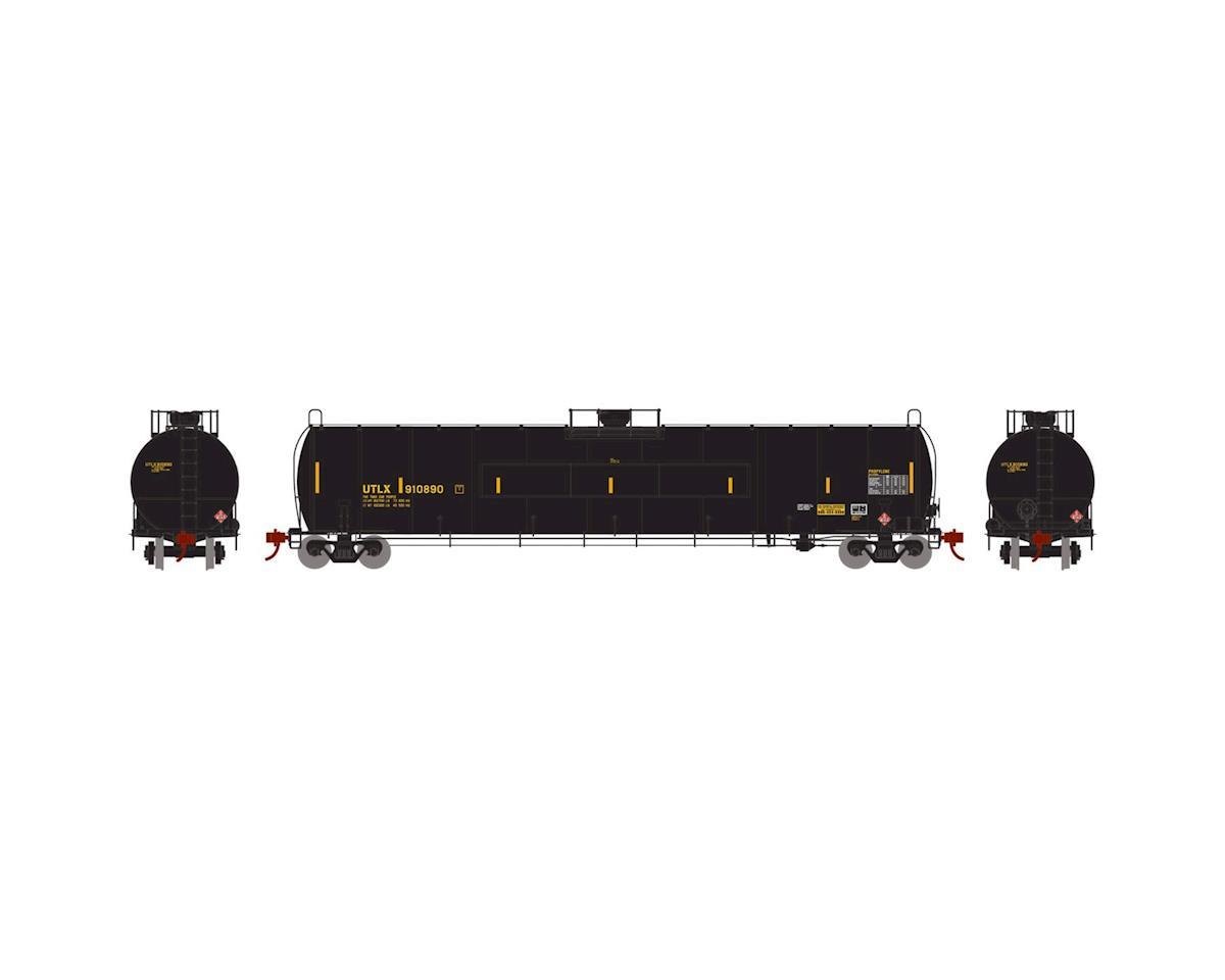 Athearn N 33,900-Gallon LPG Tank/Flat Panel, UTLX #910890