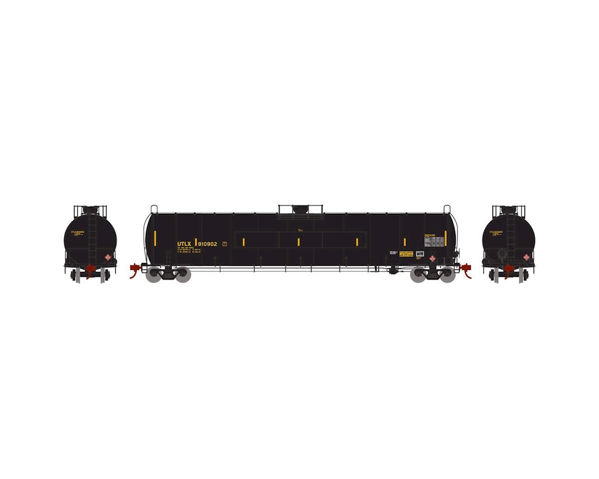 Athearn N 33,900-Gallon LPG Tank/Flat Panel, UTLX #910902