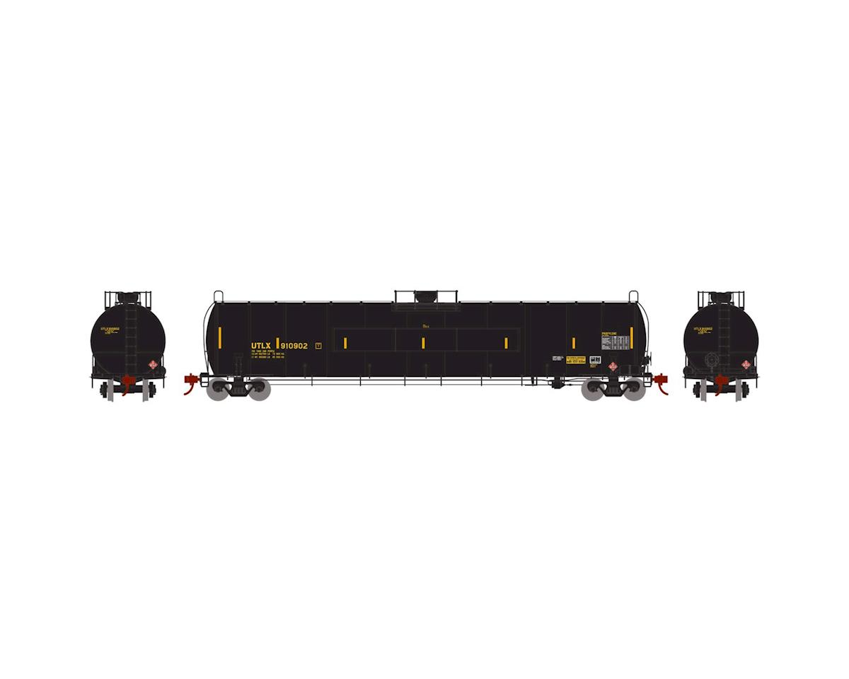 N 33,900-Gallon LPG Tank/Flat Panel, UTLX #910902 by Athearn