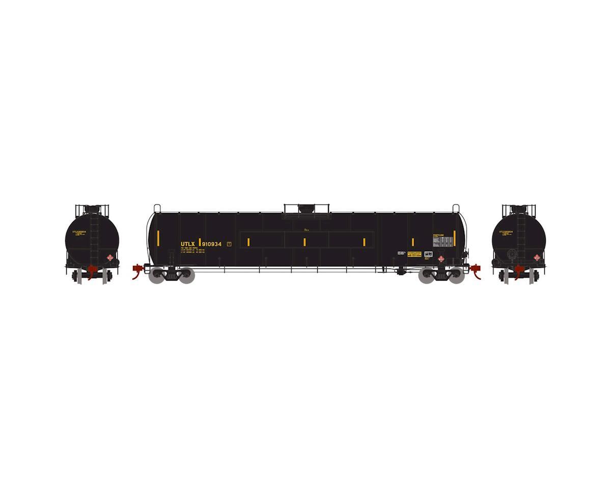 Athearn N 33,900-Gallon LPG Tank/Flat Panel, UTLX #910934