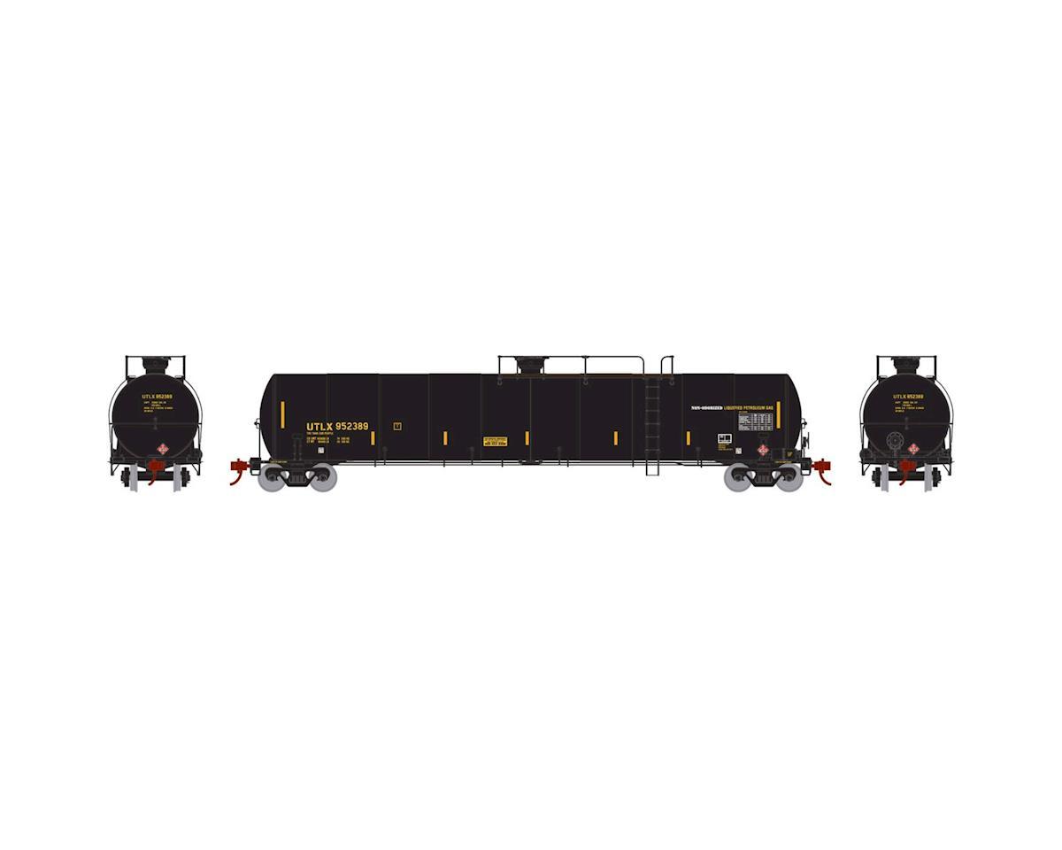 Athearn N 33,900-Gallon LPG Tank/Late, UTLX #952389