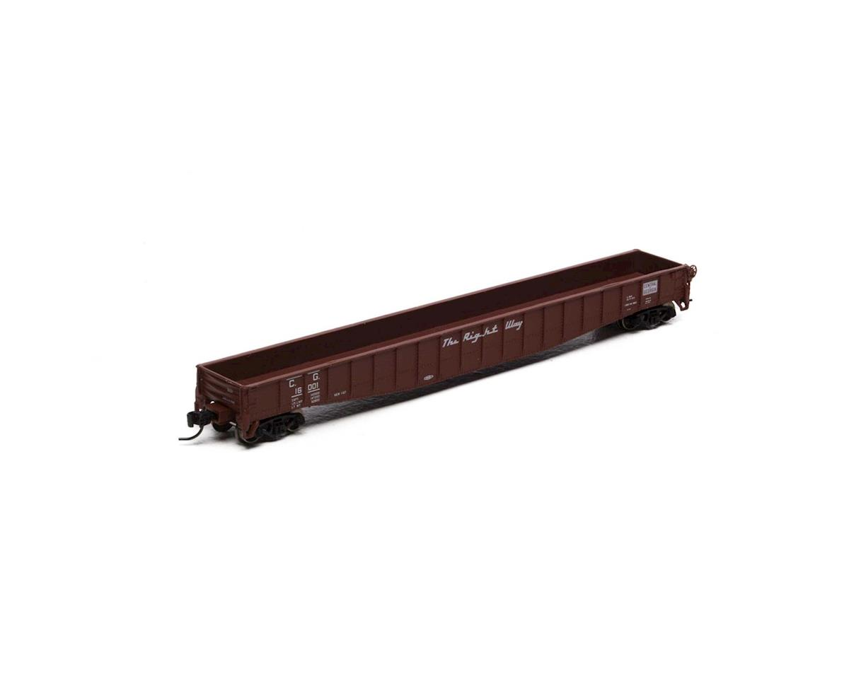 "Athearn N 65'6"" Mill Gondola, CofG #16001"